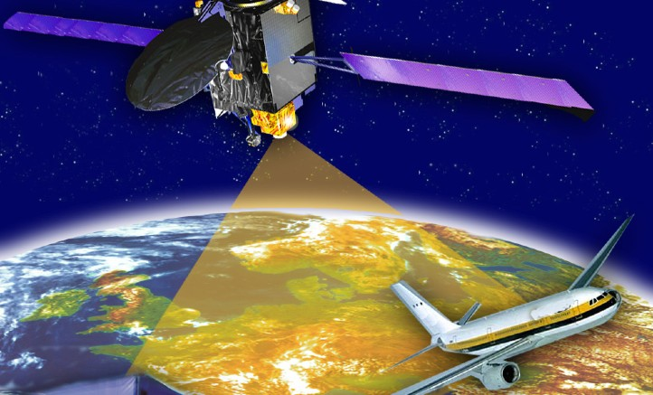 Satellitennavigation leistet einen stetig wachsenden Beitrag für den Land-, See- und Luftverkehr. Bild: ESA
