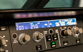 Kurs Zukunft: im Flugsimulator spannende Forschung hautnah erleben! Bild: DLR