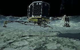 Landeinheit Philae. Bild: DLR (CC-BY 3.0).
