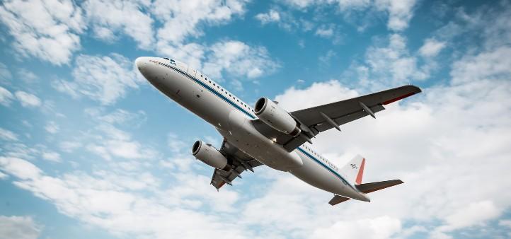"Der Airbus A320 ""ATRA"" des DLR im Flugversuch. Bild: DLR/Marek Kruszewski (CC-BY 3.0)."