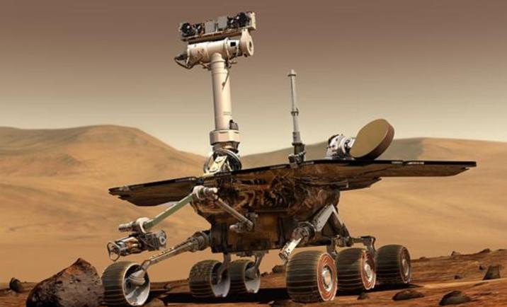 Bei der Erkundung des Mars müssen wir uns auf schlaue Marsrover wie Opportunity und Curiosity verlassen! Quelle: NASA