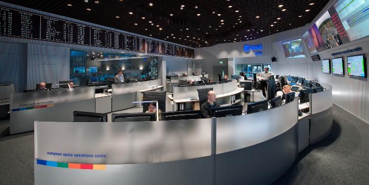 Experiment: Kontrollzentrum. Bild: DLR