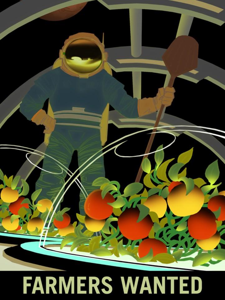 Ernährung auf anderen Planeten oder einfach nur auf der ISS spielen eine große Rolle bei der weiteren Erforschung des Alls . Bild: NASA