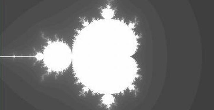 Ausflug in die Mathematik der komplexen Zahlen – Berechnung und Darstellung des Mandelbrot-Männchens. Bild: DLR