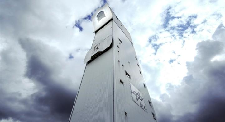 Solarturm Jülich, solarthermisches Versuchskraftwerk des DLR. Bild: DLR