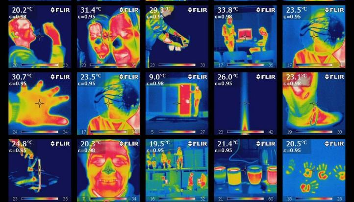 Kann man mit einer Infrarotkamera wirklich durch Wände sehen? Bild: DLR