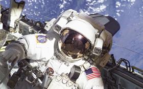 Astronaut bei einem Außeneinsatz. Bild: NASA