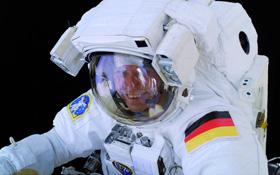 ESA-Astronaut Thomas Reiter. Bild: ESA