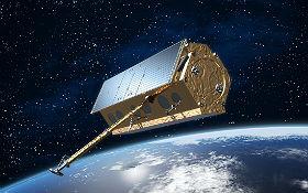 Fernerkundung mittels Satelliten – eines der spannenden Themen, mit denen Kinder und Jugendliche in Neustrelitz bekannt gemacht werden. Bild: EADS, Astrium