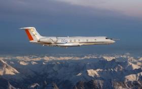 HALO Gulfstream G 550. Bild: DLR