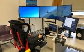 Der Flugsimulator des DLR_School_Lab. Bild: DLR