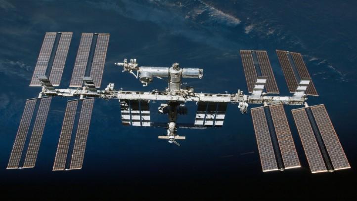 Die Internationale Raumstation (ISS). Bild: NASA