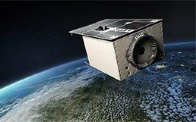 Satellit EnMAP. Bild: DLR