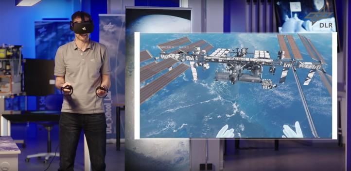 Wie hoch fliegt die Internationale Raumstation? Wie lange können sich Menschen auf dem Mond aufhalten? Und wieso strahlt der Mond so hell? Tobi macht sich mit euch gemeinsam auf zu einer Reise ins Weltall. Bild: DLR
