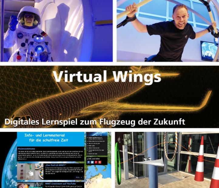 Mit verschiedensten Online-Angeboten gehen die DLR_School_Labs auf Schulen zu. Bilder: DLR