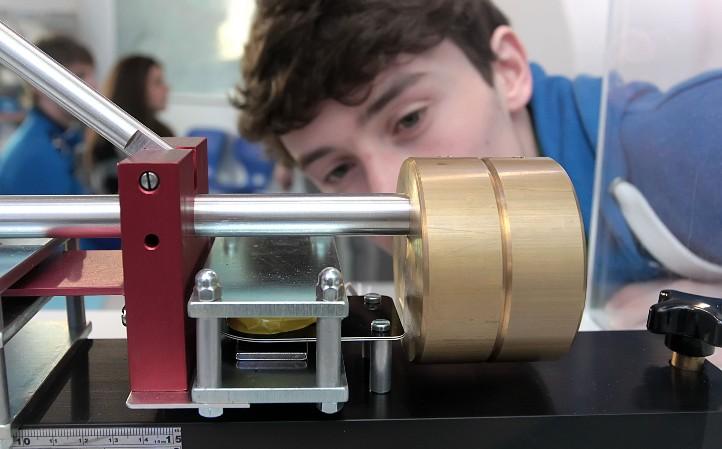 Das Seismometer im DLR_School_Lab Berlin. Credit: DLR / Gossmann