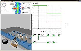Realitäts-Check: Vergleicht mit einer Software aus der Forschung die von Euch gewonnen Ergebnisse mit einer Simulation. Credit: DLR (CC-BY 3.0).