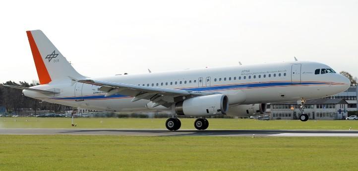 Dein Arbeitsgerät in der Simulation: Forschungsflugzeug Airbus A320 ATRA. Credit: DLR