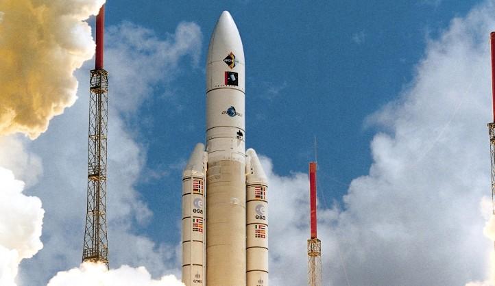 Die stärksten Motoren der Welt! Credit: ESA, CNES, Arianespace