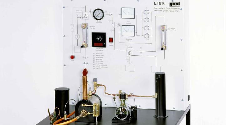 Dampfkraftanlage mit Dampfmaschine der Firma G.U.N.T. Bild: G.U.N.T. Gerätebau GmbH