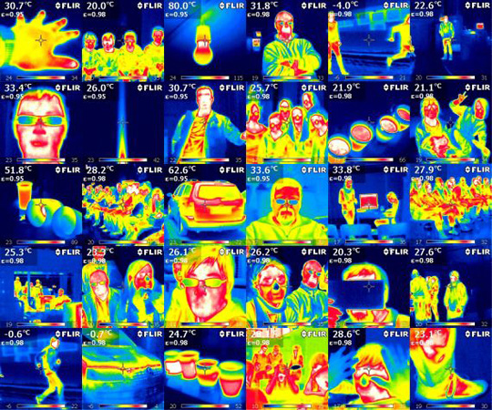 At the DLR_School_Lab Cogne, students can make the invisible visible using a thermal imaging camera and learn what this has to do with infrared astronomy. The topics at the School_Lab also range from reducing aircraft noise to research in microgravity. Credit: DLR