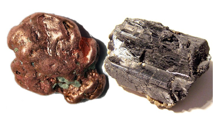 Copper and tungsten. These two metals are the subject of the electroplating experiment. Bild: DLR (CC-BY 3.0)