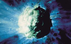 A comet nucleus. Credit: NASA