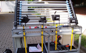 Apparatus for solar water purification. Credit: DLR (CC-BY 3.0)