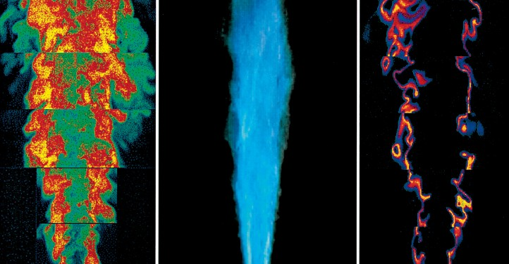 Laserdiagnostik. Bild. DLR (CC-BY 3.0)