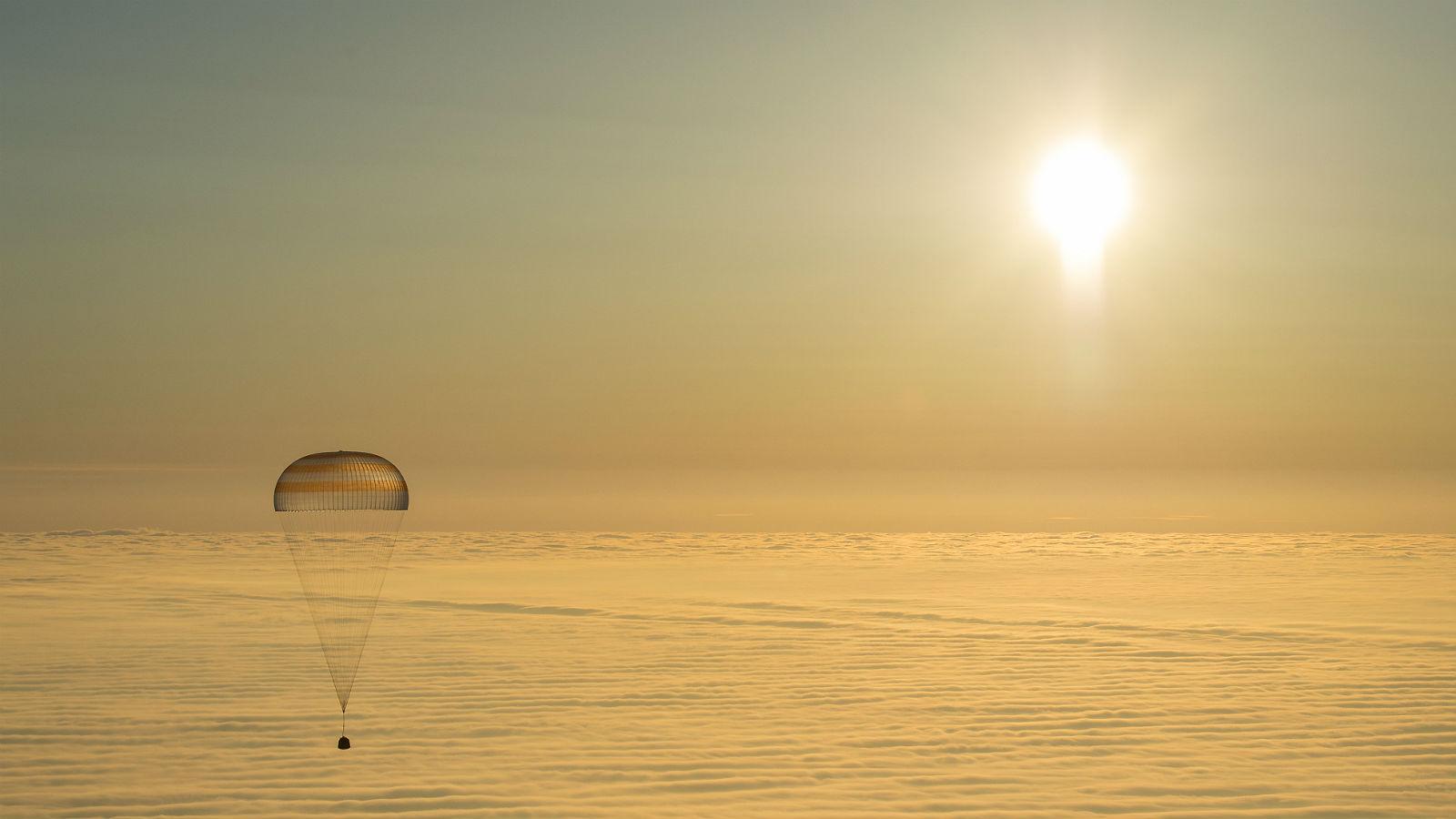 """Die letzten Kilometer legt eine Rückkehrkapsel """"gemütlich"""