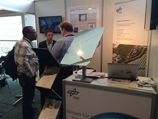 The Institute of Solar Research presented SynLight at the international CSP conference in Cape Town, South Africa