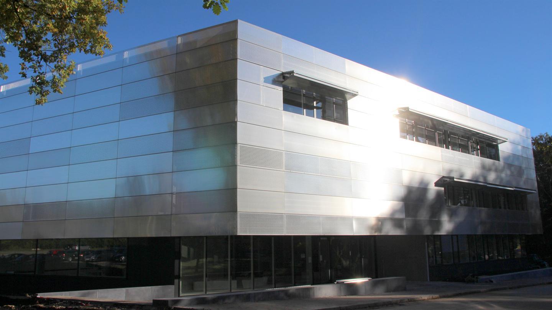 Gebäude für die Batterieforschung am Helmholtz-Institut Ulm